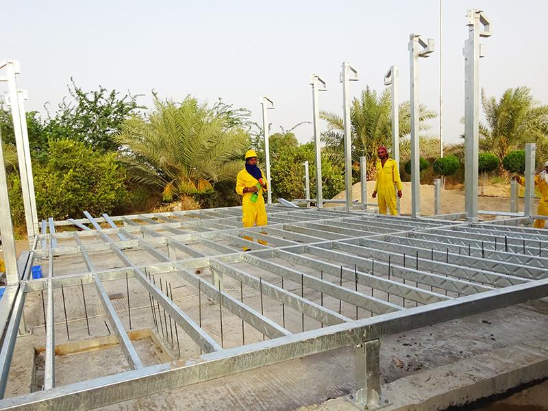 Prefabricated Concrete Villa smart Brand modular house