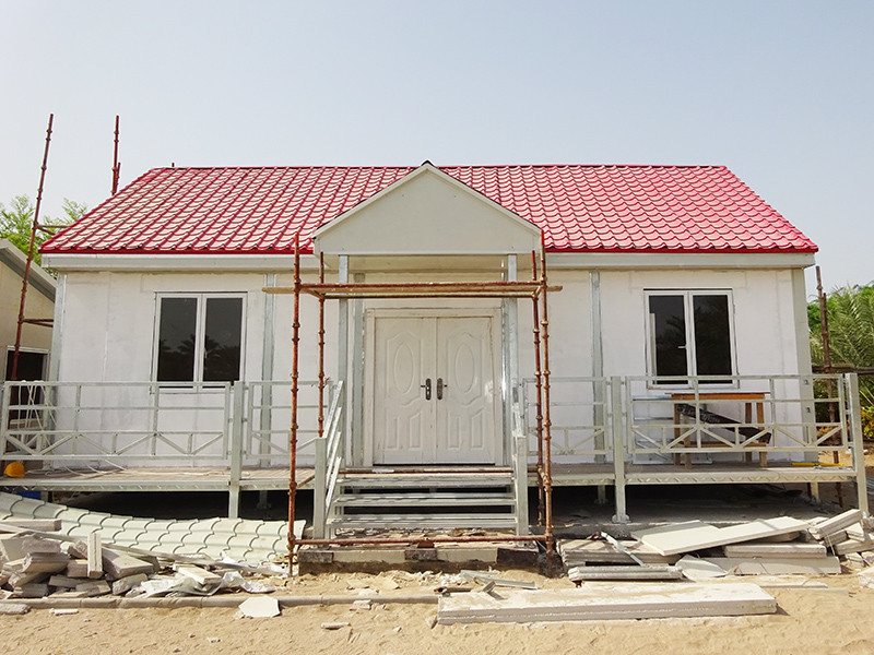 Prefabricated Concrete Villa v23 modular house project WELLCAMP, WELLCAMP prefab house, WELLCAMP container house