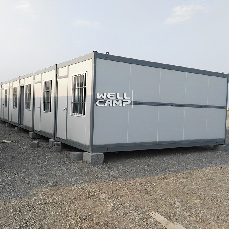 WELLCAMP, WELLCAMP prefab house, WELLCAMP container house Brand workers portable folding container house c1 mobile