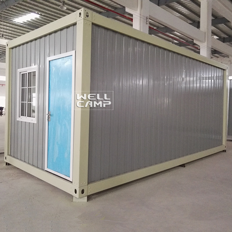 WELLCAMP, WELLCAMP prefab house, WELLCAMP container house Brand modular pack modern container house c17 supplier