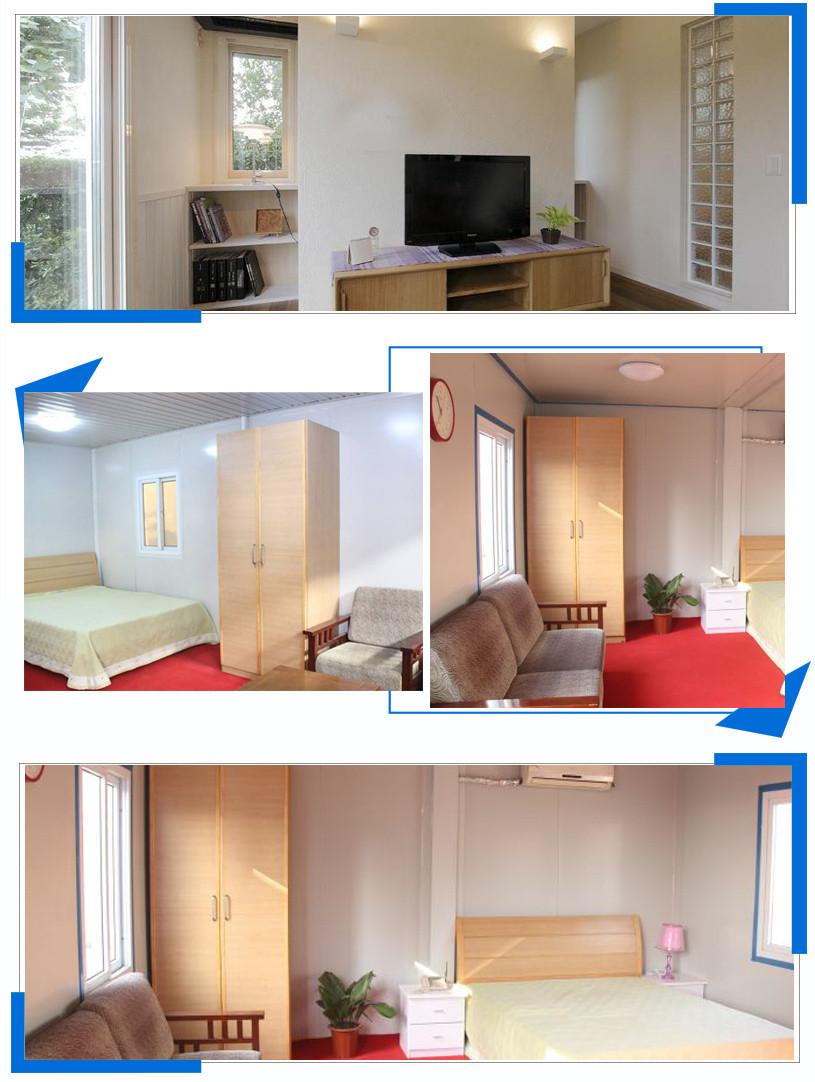 WELLCAMP, WELLCAMP prefab house, WELLCAMP container house holiday cv6 luxury Prefabricated Concrete Villa cv2