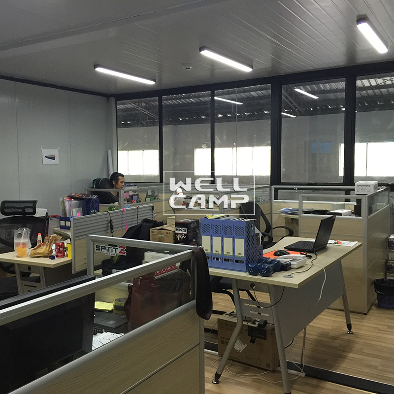 WELLCAMP, WELLCAMP prefab house, WELLCAMP container house detachable container house project ieps c7 c6