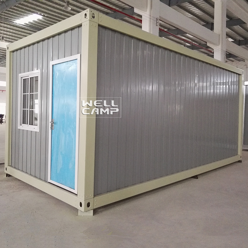 WELLCAMP, WELLCAMP prefab house, WELLCAMP container house Brand design modern container house d2 modern