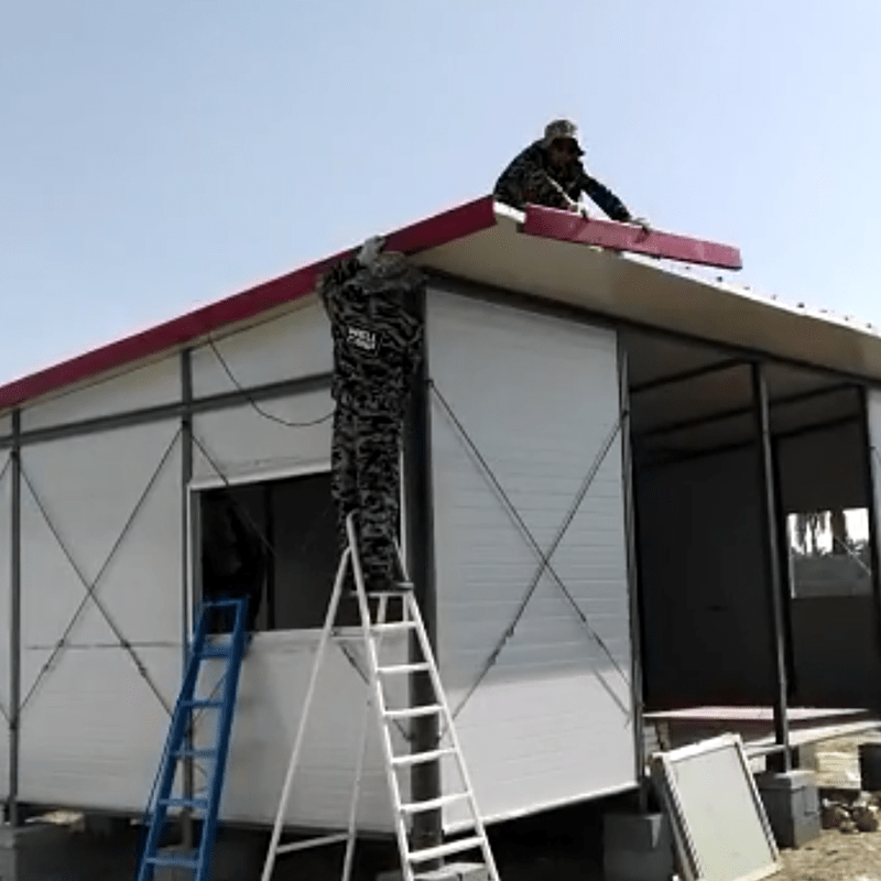 Hot prefabricated houses china price government prefab houses project WELLCAMP, WELLCAMP prefab house, WELLCAMP container house