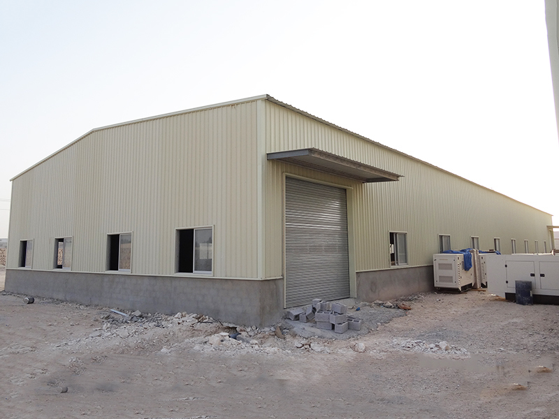 prefab warehouse s3 Warranty