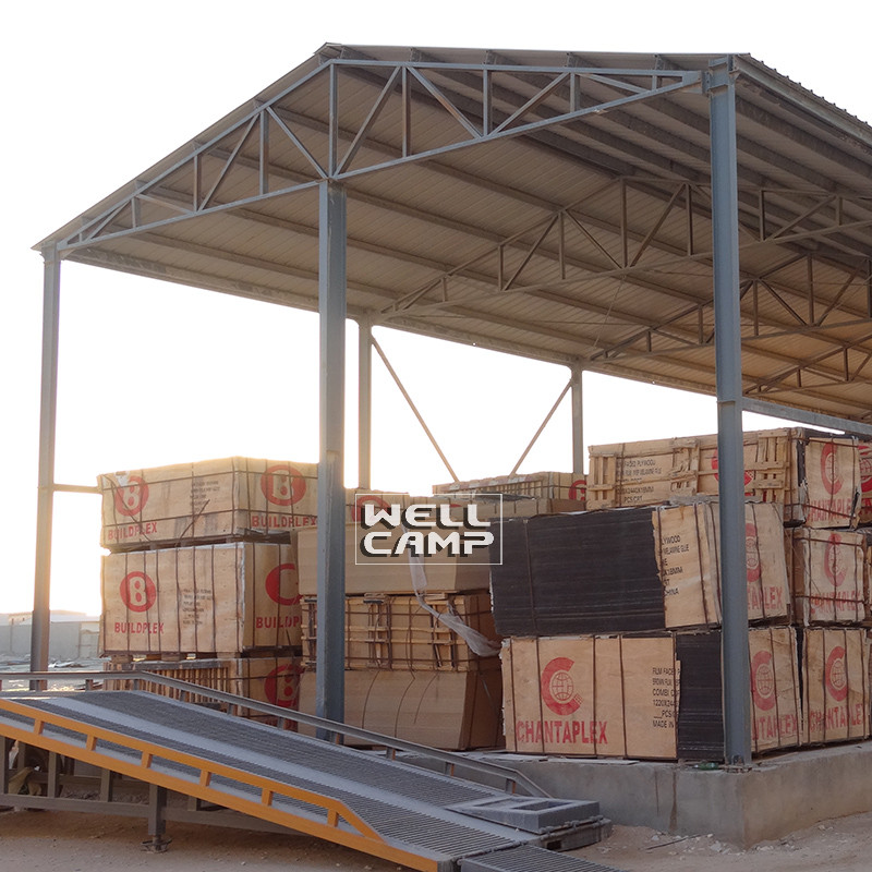 WELLCAMP, WELLCAMP prefab house, WELLCAMP container house Brand structure prefab warehouse s6 widely