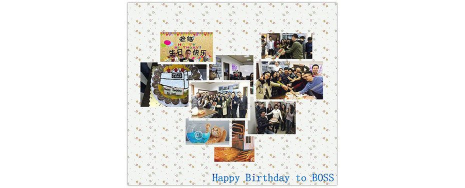 Happy Birthday to Siwen, WELLCAMP's Boss