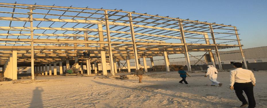 Wellcamp's Boss Visits Qatar Construction Site