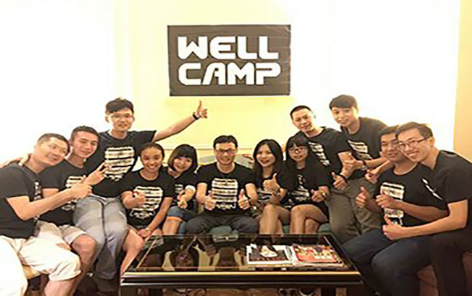WELLCAMP had its birthday party in Macau