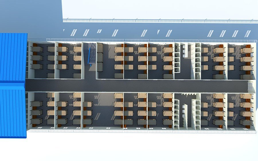 K Prefab House-Dormitories
