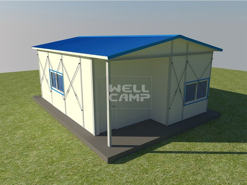Fast Installed Economic Mobile Prefab Houses, Wellcamp K-8