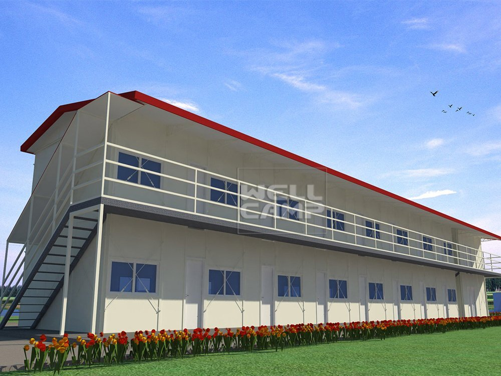 Mobile Homes K Type Prefabricated House For Labor Camp, Wellcamp K-9