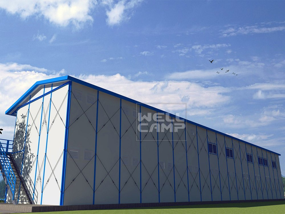 Widely Used Recyclable Materials Mobile Prefab House for Accommodation, Wellcamp K-12