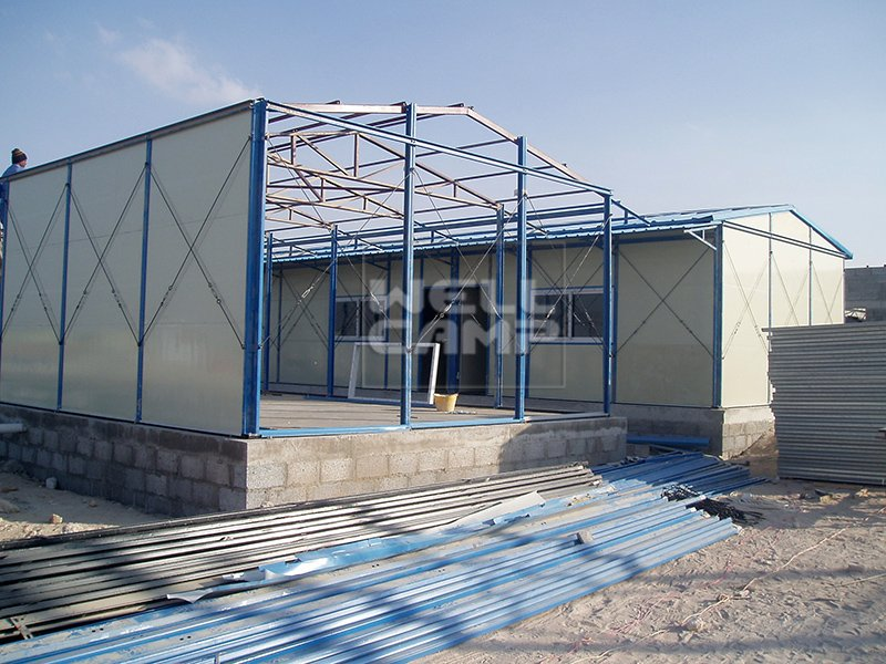 Mobile Low Cost Steel Prefab House For Labor Camp, Wellcamp K-11