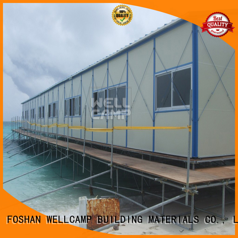 green rock houses WELLCAMP, WELLCAMP prefab house, WELLCAMP container house Brand prefab houses supplier