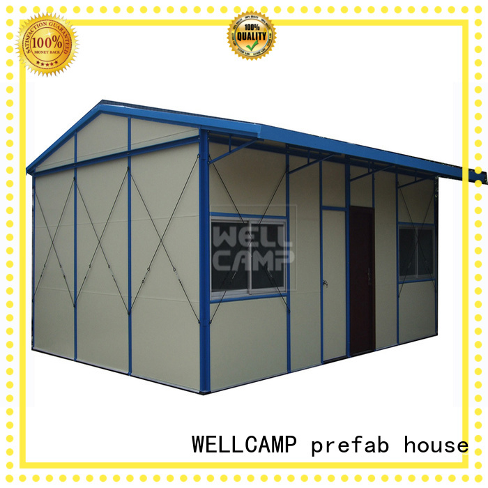Quality WELLCAMP, WELLCAMP prefab house, WELLCAMP container house Brand prefabricated houses china price pitch