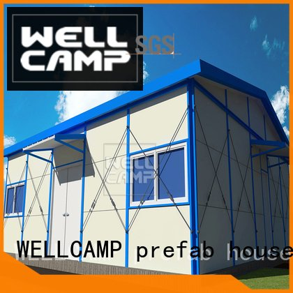 WELLCAMP, WELLCAMP prefab house, WELLCAMP container house Brand affordable recyclable prefabricated houses china price