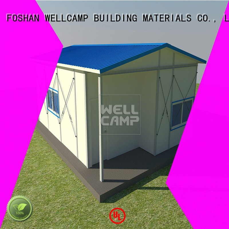 floor project labour prefab houses WELLCAMP, WELLCAMP prefab house, WELLCAMP container house