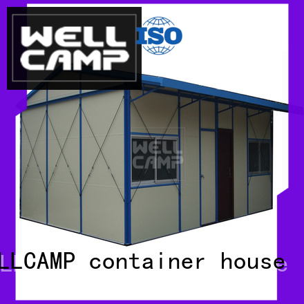 k5 section prefab houses WELLCAMP, WELLCAMP prefab house, WELLCAMP container house Brand