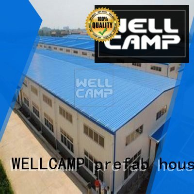 WELLCAMP, WELLCAMP prefab house, WELLCAMP container house Brand structure customized economic steel warehouse durable