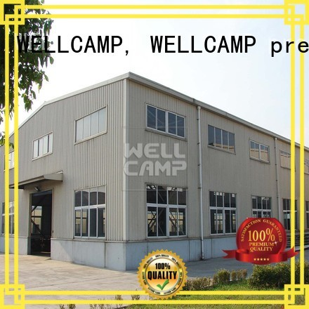 Wholesale shed span steel warehouse WELLCAMP, WELLCAMP prefab house, WELLCAMP container house Brand