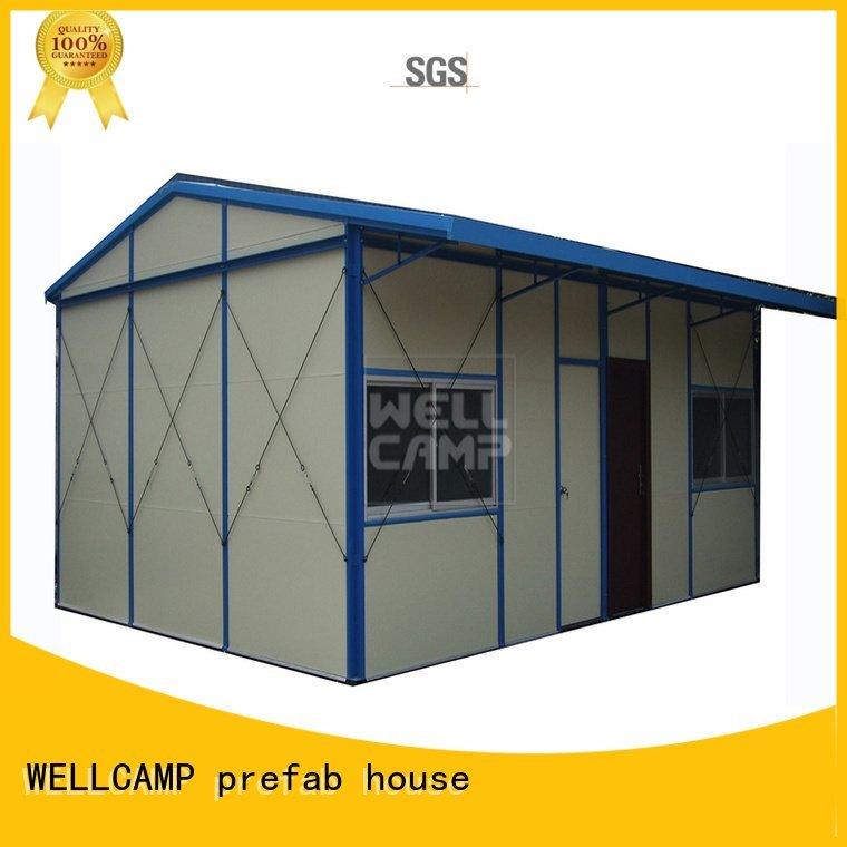 sandwich floor movable WELLCAMP, WELLCAMP prefab house, WELLCAMP container house Brand prefab houses supplier