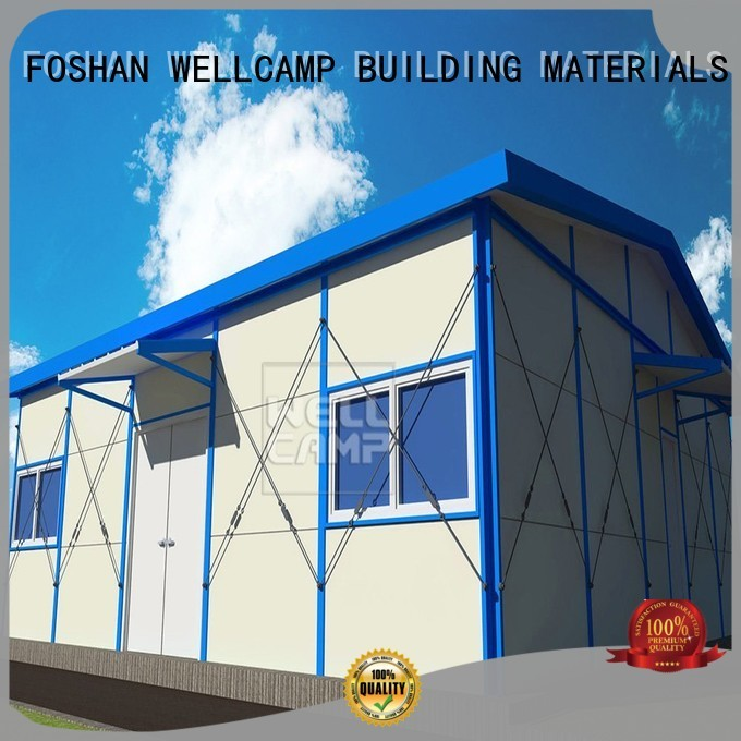 Wholesale section prefabricated houses china price WELLCAMP, WELLCAMP prefab house, WELLCAMP container house Brand