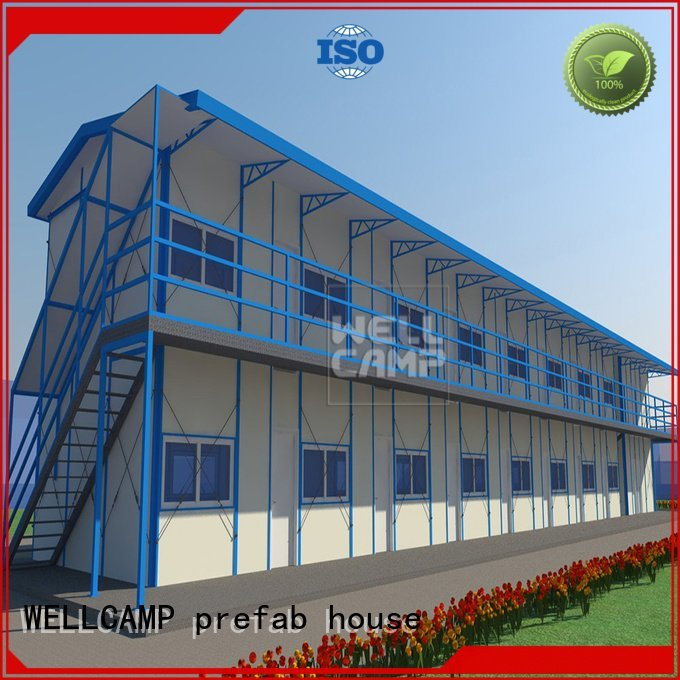 cost durable WELLCAMP, WELLCAMP prefab house, WELLCAMP container house Brand prefab houses