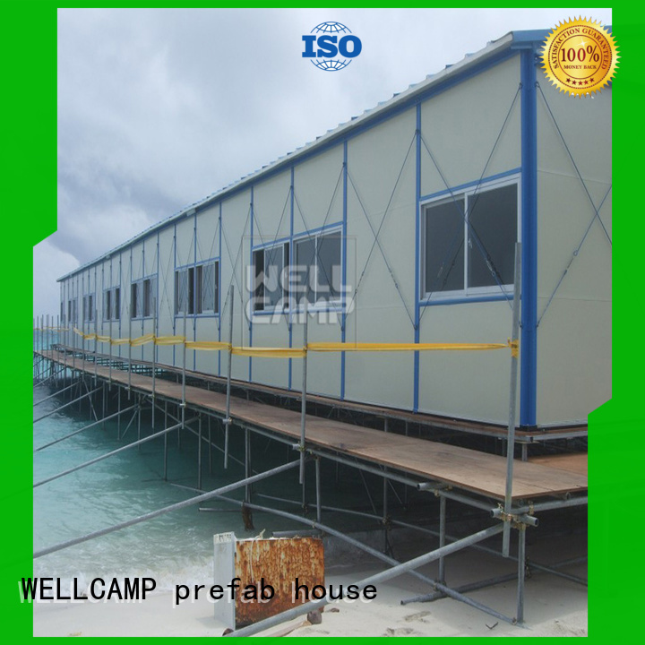prefabricated houses china price affordable movable WELLCAMP, WELLCAMP prefab house, WELLCAMP container house Brand