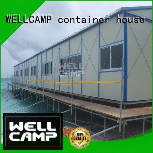 prefabricated houses china price three labor WELLCAMP, WELLCAMP prefab house, WELLCAMP container house Brand company