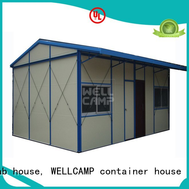 modern pitch WELLCAMP, WELLCAMP prefab house, WELLCAMP container house prefabricated houses china price