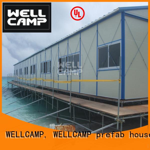 on modular prefab houses classroom WELLCAMP, WELLCAMP prefab house, WELLCAMP container house Brand