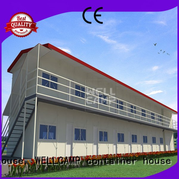 green on WELLCAMP, WELLCAMP prefab house, WELLCAMP container house prefab houses