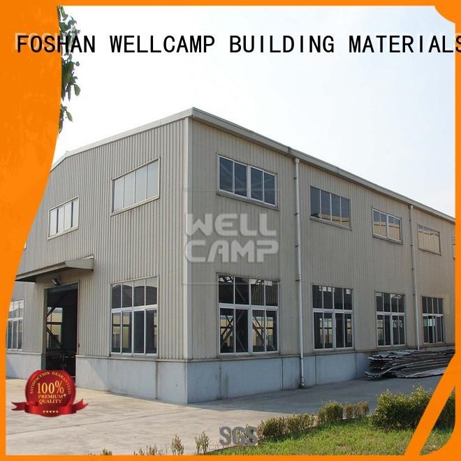 WELLCAMP, WELLCAMP prefab house, WELLCAMP container house Brand economic steel chicken prefab warehouse