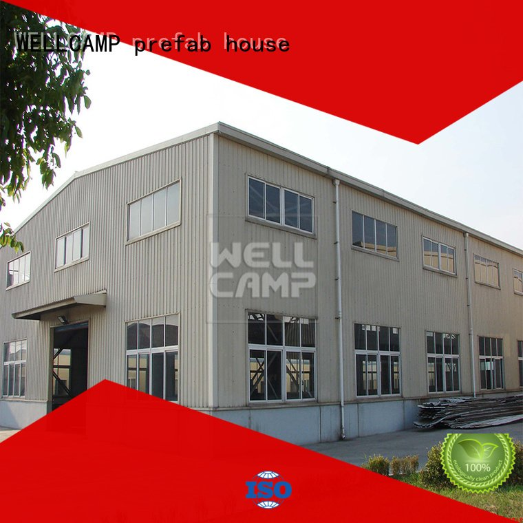 prefab warehouse s21 steel warehouse WELLCAMP, WELLCAMP prefab house, WELLCAMP container house Brand