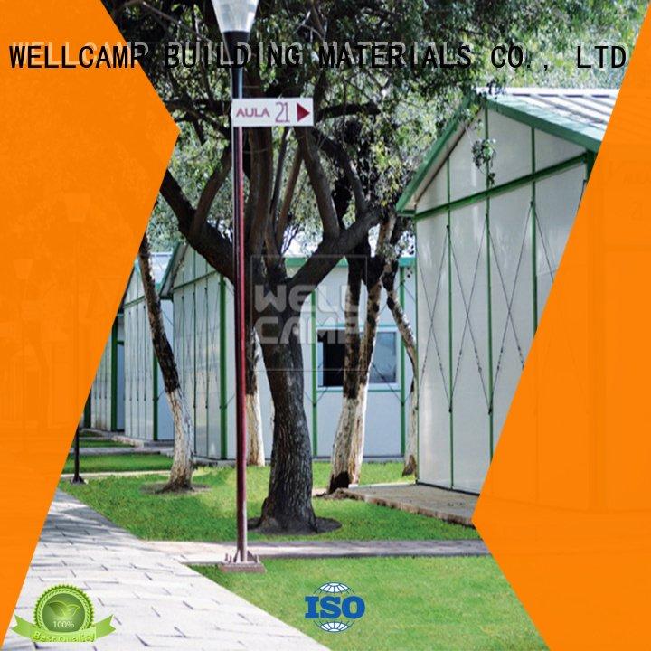 WELLCAMP, WELLCAMP prefab house, WELLCAMP container house Brand prefab green project prefab houses