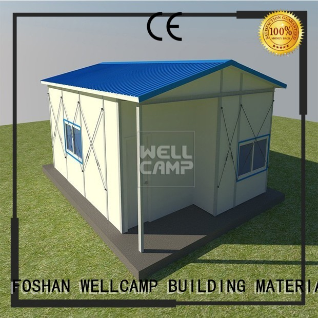 WELLCAMP, WELLCAMP prefab house, WELLCAMP container house Brand k17 floor prefabricated houses china price mobile