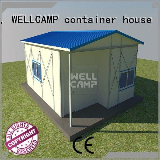 WELLCAMP, WELLCAMP prefab house, WELLCAMP container house k1 prefab houses prefabricated