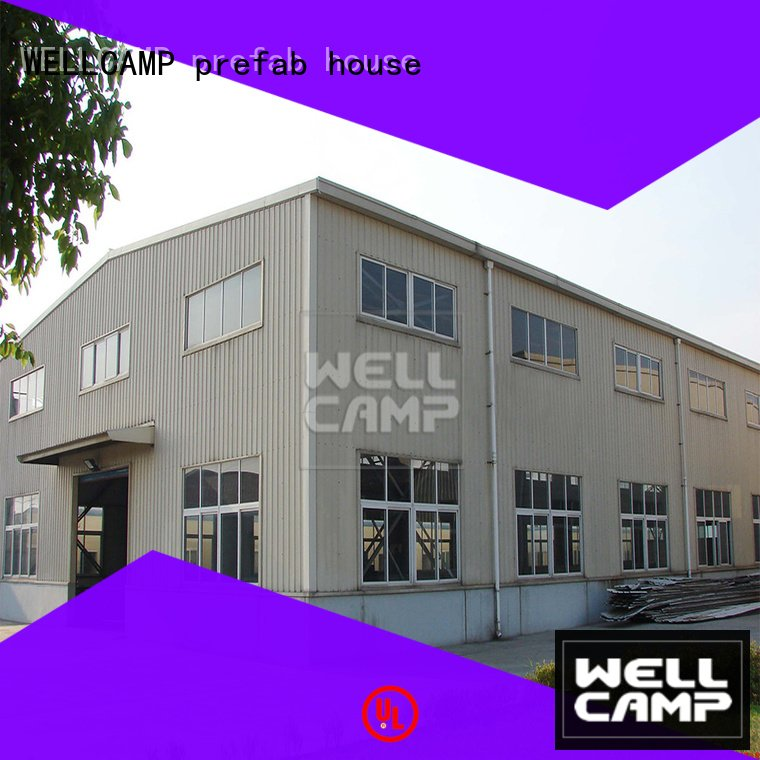 WELLCAMP, WELLCAMP prefab house, WELLCAMP container house prefab warehouse workshop cost economic s5