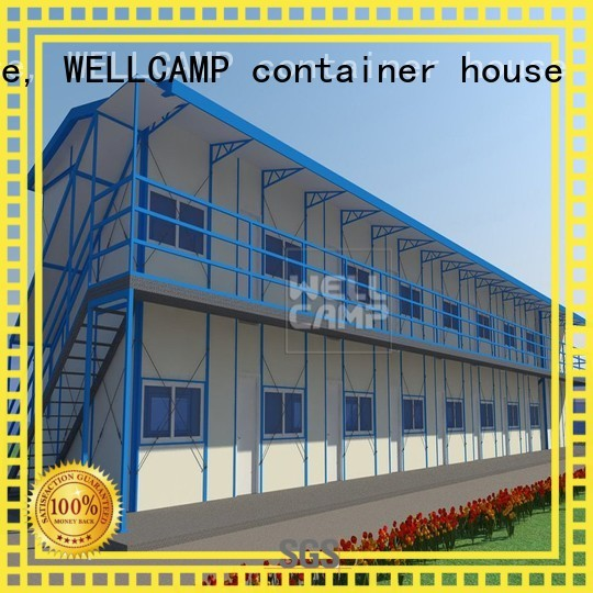 Hot officek21 prefabricated houses china price worker WELLCAMP, WELLCAMP prefab house, WELLCAMP container house Brand