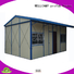 materials low prefab houses WELLCAMP, WELLCAMP prefab house, WELLCAMP container house Brand