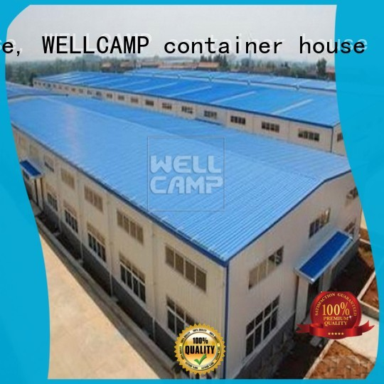 WELLCAMP, WELLCAMP prefab house, WELLCAMP container house Brand strong prefab warehouse workshop supplier