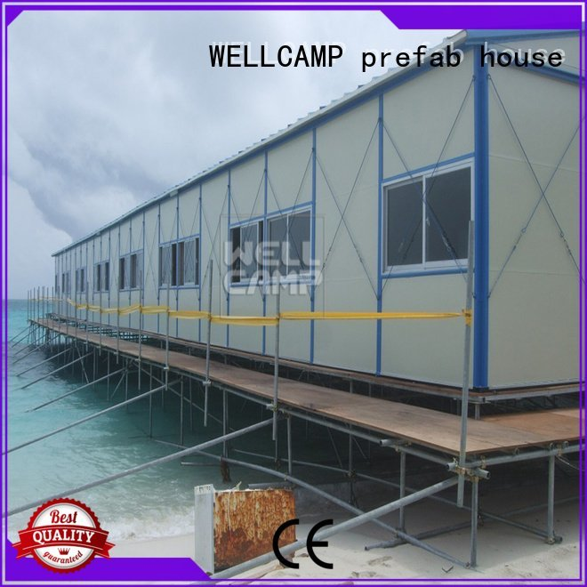 labour pitch sandwich cost WELLCAMP, WELLCAMP prefab house, WELLCAMP container house prefabricated houses china price