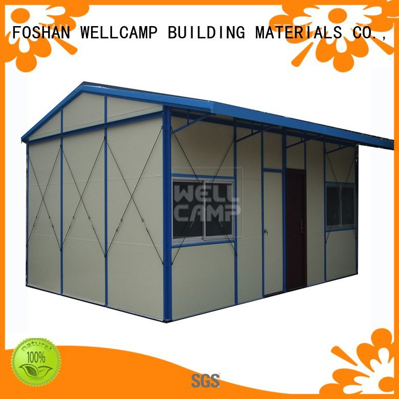 Hot prefabricated houses china price k4 WELLCAMP, WELLCAMP prefab house, WELLCAMP container house Brand