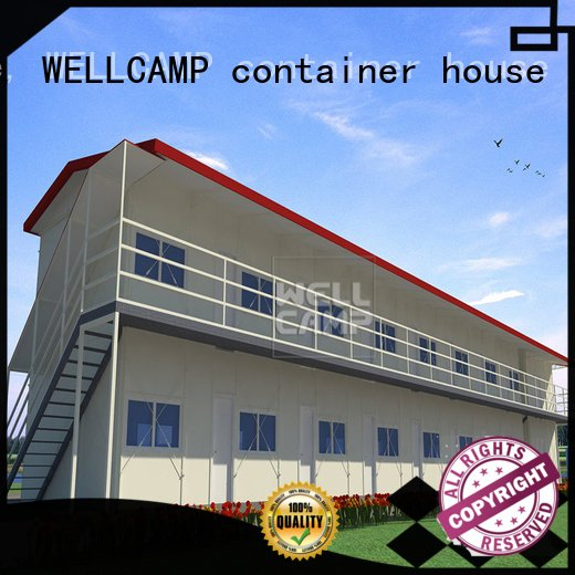WELLCAMP, WELLCAMP prefab house, WELLCAMP container house Brand sandwich k5 prefabricated houses china price pitch