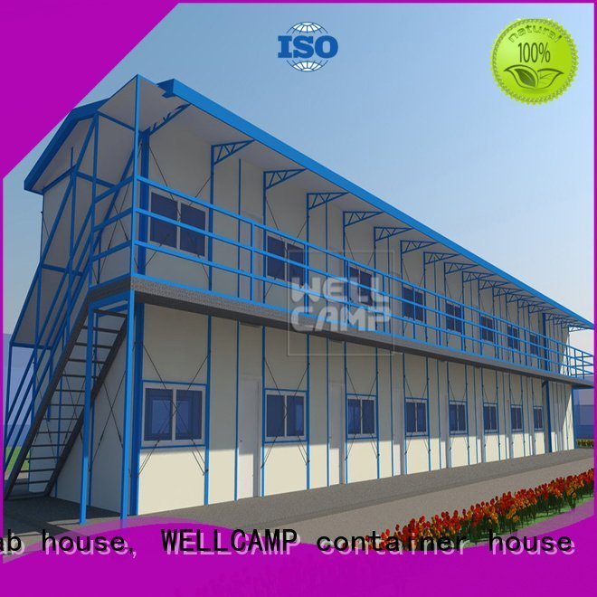 prefabricated houses china price k7 section accommodation WELLCAMP, WELLCAMP prefab house, WELLCAMP container house