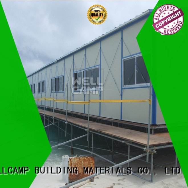 WELLCAMP, WELLCAMP prefab house, WELLCAMP container house government prefabricated houses china price affordable