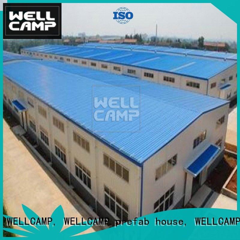prefab warehouse s4 panel steel warehouse WELLCAMP, WELLCAMP prefab house, WELLCAMP container house Brand
