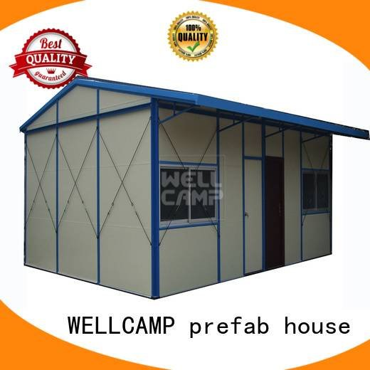 strong prefab houses temporary galvanized