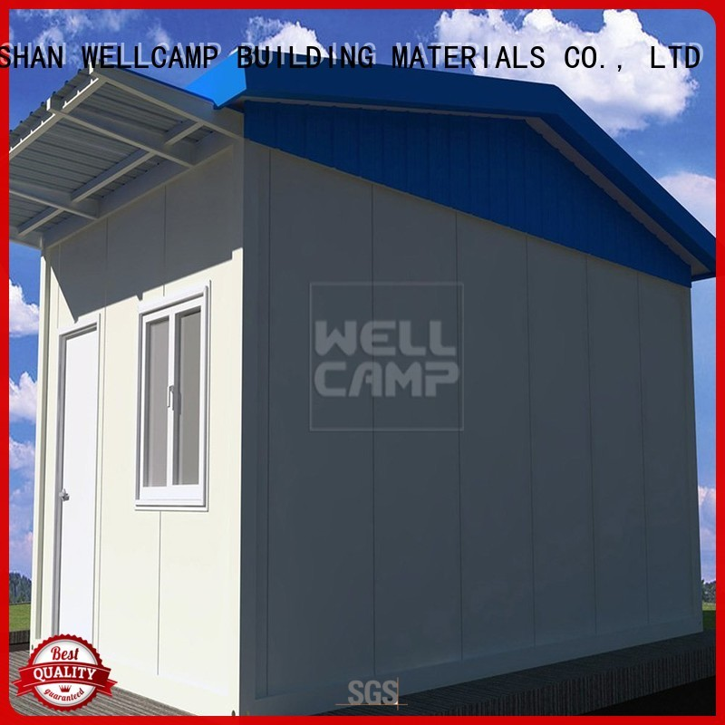 WELLCAMP, WELLCAMP prefab house, WELLCAMP container house Brand room security room security factory